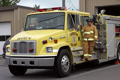Fredericton NB Fire Dept