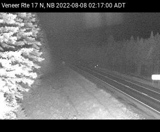 Web Cam image of Veneer (NB Highway 17)
