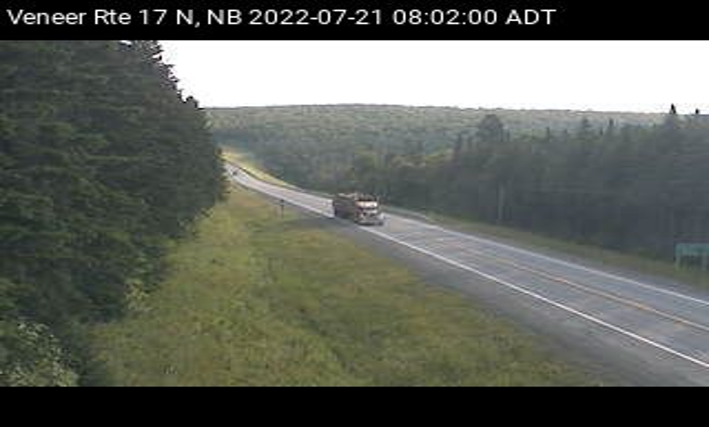 Web Cam image of Veneer (NB Highway 17)