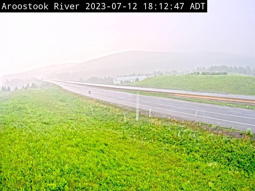 Web Cam image of Aroostook River (NB Highway 2)