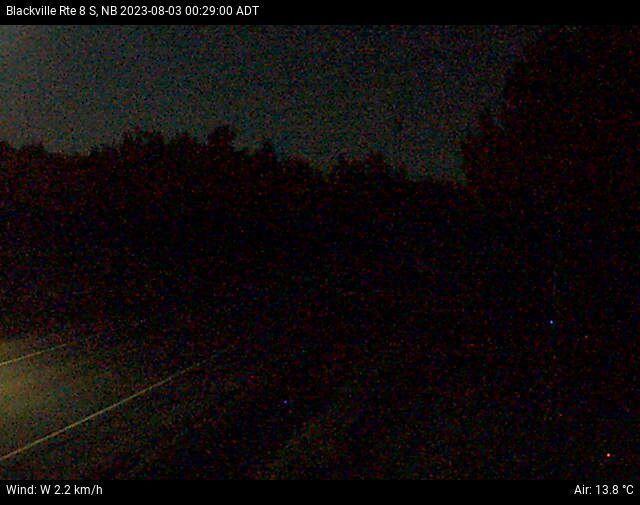 Web Cam image of Blackville (NB Highway 8)