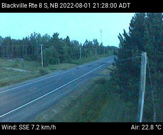 Web Cam image of Blackville (NB Highway 8)