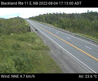 Web Cam image of Blackland (NB Highway 11)