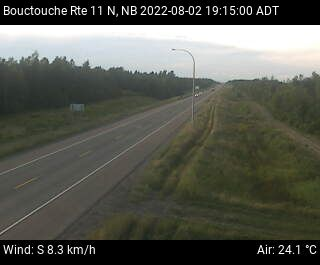Web Cam image of Bouctouche (NB Highway 11)