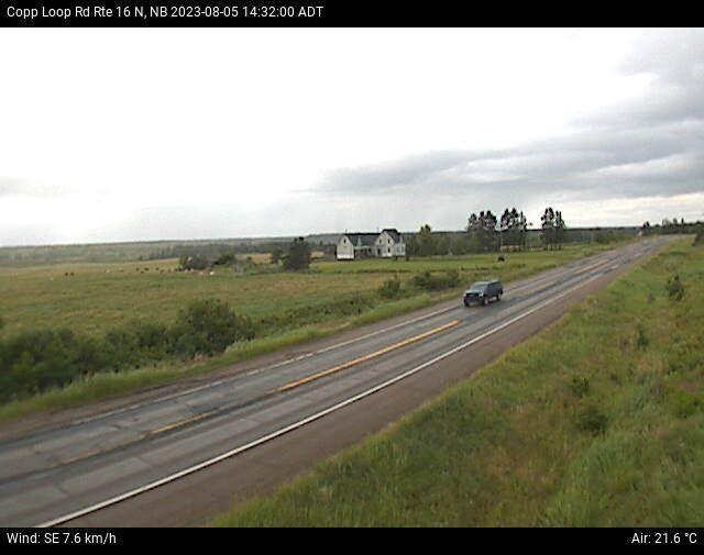 Web Cam image of Copp Loop Road (NB Highway 16)
