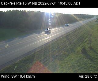 Web Cam image of Cap-Pelé (NB Highway 15)