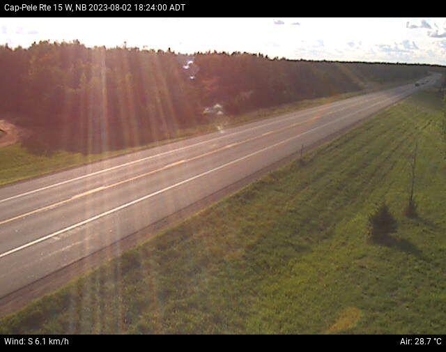 Web Cam image of Cap-Pelé (NB Highway 15)