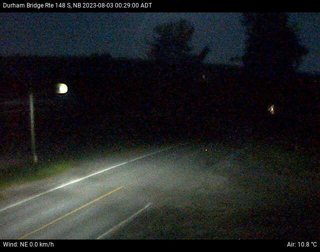 Web Cam image of Durham Bridge (NB Highway 148)