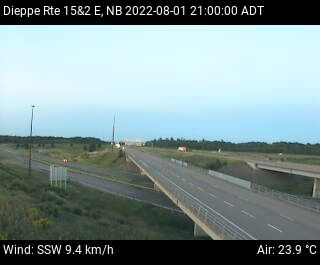 Web Cam image of Dieppe/Moncton (NB Highway 2)