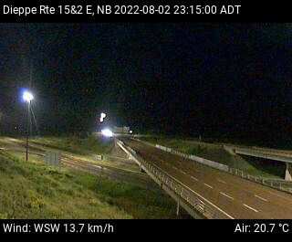 New Brunswick Highway Cameras