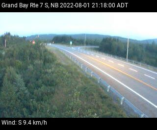 Web Cam image of Grand Bay-Westfield (NB Highway 7)