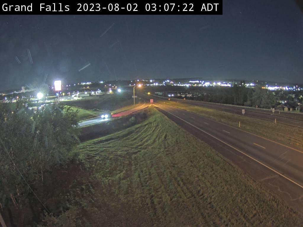 Web Cam image of Grand Falls (NB Highway 2)