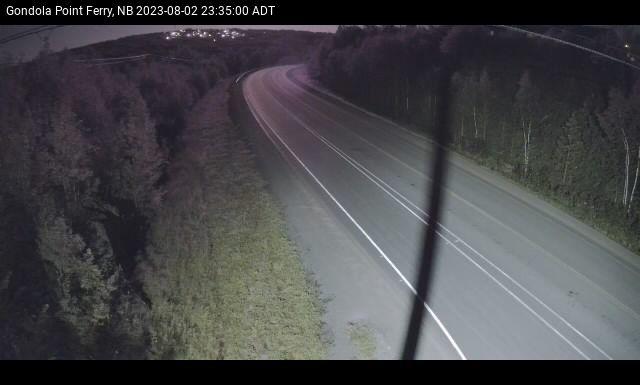 Web Cam image of Quispamsis (Gondola Point)