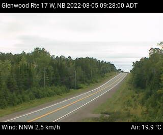 Web Cam image of Glenwood (NB Highway 17)