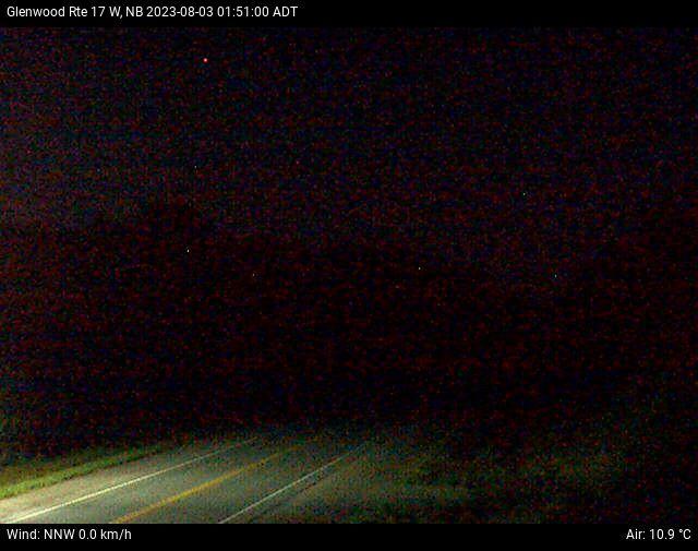 Web Cam image of Glenwood (NB Highway 17)