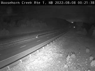 Web Cam image of Moosehorn Creek (NB Highway 1)
