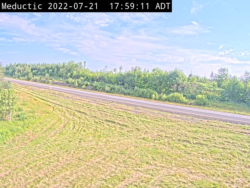 Web Cam image of Meductic (NB Highway 2)