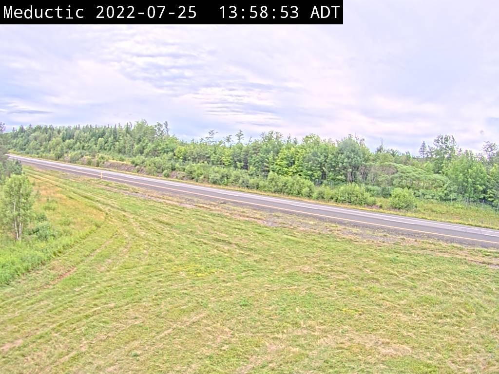 Web Cam image of Meductic (NB Highway 2)