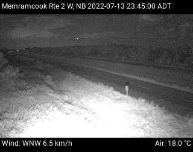 Web Cam image of Memramcook (NB Highway 2)