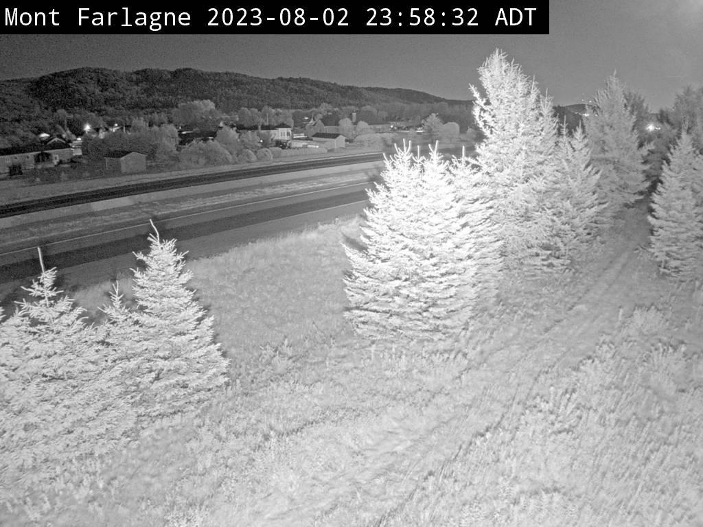 Web Cam image of Mont Farlagne (NB Highway 2)