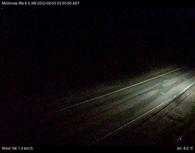 Web Cam image of McGivney (NB Highway 8)
