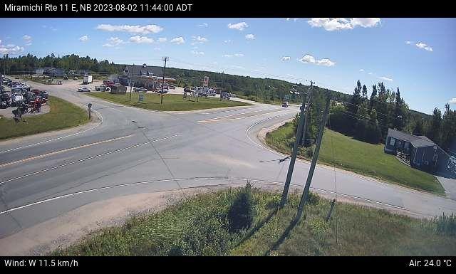 Web Cam image of Miramichi (NB Highway 11)