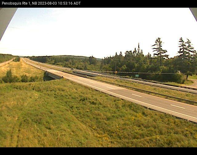 Web Cam image of Penobsquis (NB Highway 1)