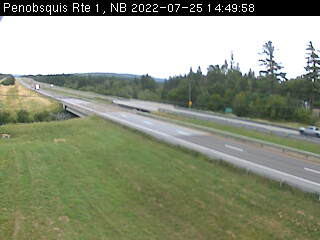 Web Cam image of Penobsquis (NB Highway 1)
