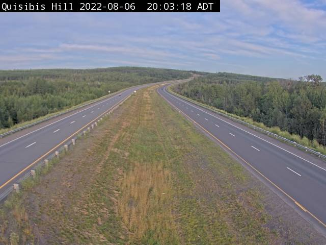 Web Cam image of Quisibis Hill (NB Highway 2)