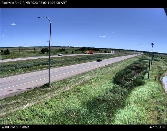 Web Cam image of Sackville (NB Highway 2)