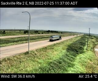 Web Cam image of Sackville (NB Highway 2)