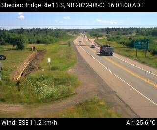 Web Cam image of Shediac Bridge (NB Highway 11)