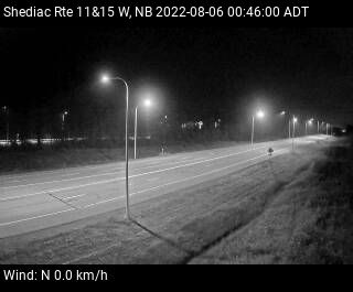 Web Cam image of Shediac (NB Highway 11)