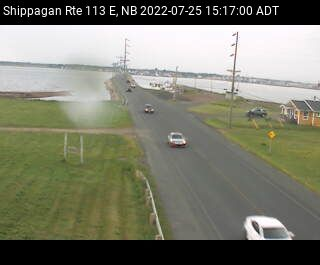 Web Cam image of Shippagan (NB Highway 113)