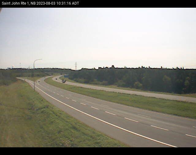 Web Cam image of Saint John (NB Highway 1)