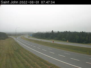 Web Cam image of Saint John (NB Highway 1)