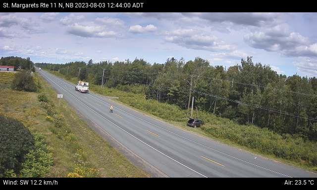 Web Cam image of St. Margarets (NB Highway 11)