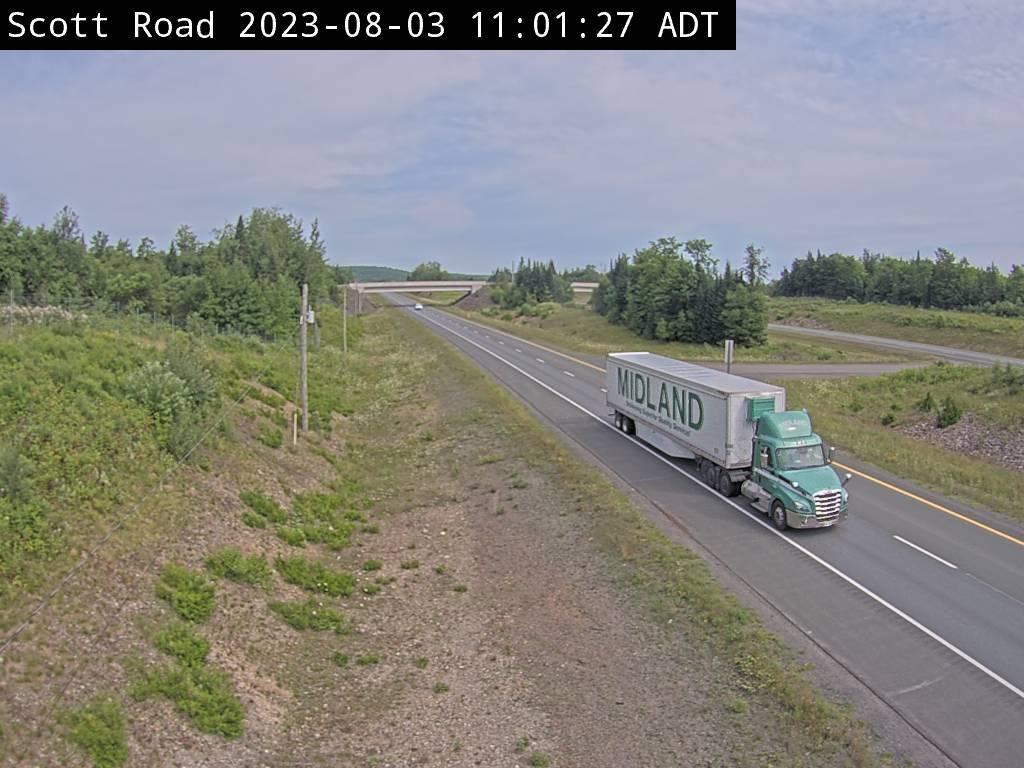 Web Cam image of Bairdsville (NB Highway 2)