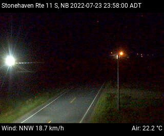 Web Cam image of Stonehaven (NB Highway 11)