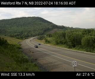 Web Cam image of Welsford (NB Highway 7)