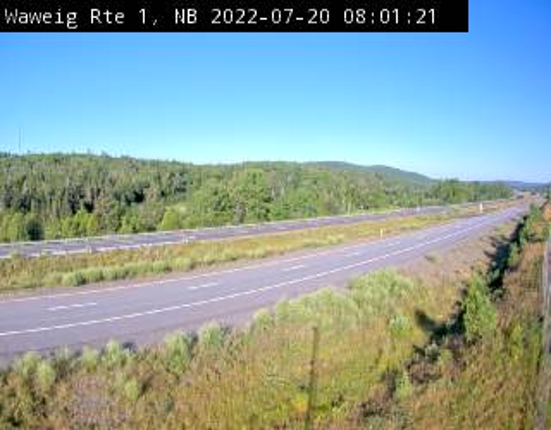 Web Cam image of Waweig (NB Highway 1)
