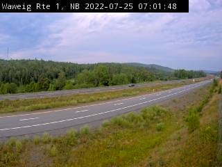 Web Cam image of Waweig (NB Highway 1)