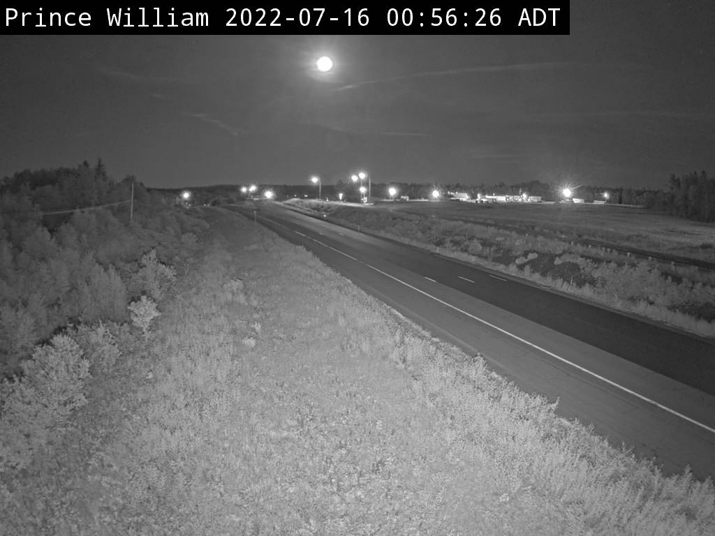 Web Cam image of Prince William (NB Highway 2)