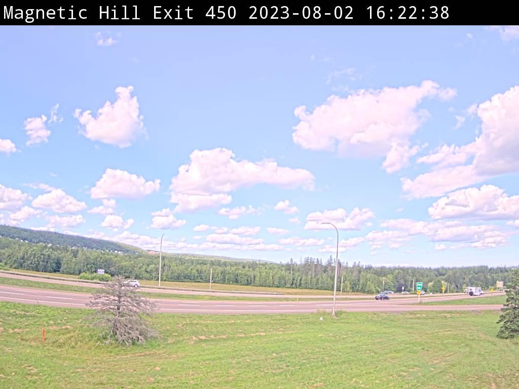 Web Cam image of Moncton (NB Highway 2)