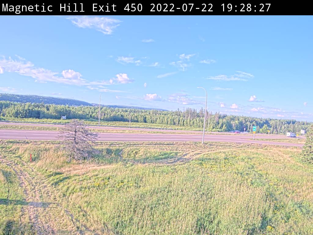 Web Cam image of Moncton (NB Highway 2)