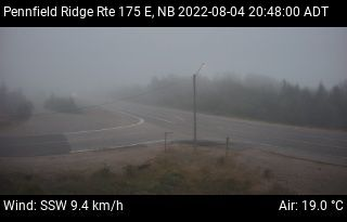 Web Cam image of Pennfield Ridge (NB Highway 175)