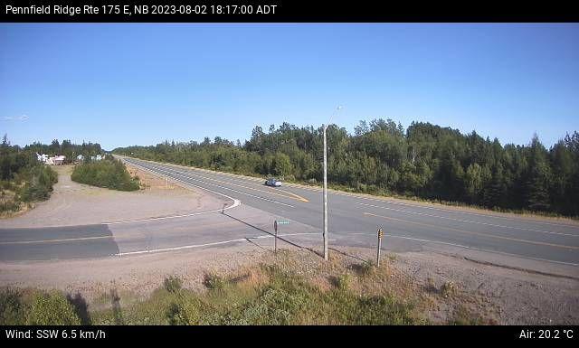 Web Cam image of Pennfield Ridge (NB Highway 175)