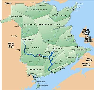 St John River Maine Map.Communications New Brunswick River Watch Flooding On The St